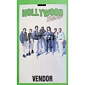 Limited Edition Hollywood Show VENDOR Pass Alien