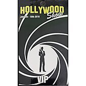Limited Edition Hollywood Show VIP Pass Bond 007