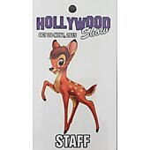 Limited Edition Hollywood Show STAFF Pass Bambi