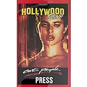 Limited Edition Hollywood Show PRESS Pass Cat People