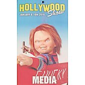 Limited Edition Hollywood Show MEDIA Pass Chucky