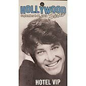 Limited Edition Hollywood Show HOTEL VIP Pass Michael Cole