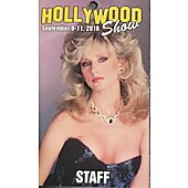 Limited Edition Hollywood Show STAFF  Pass Morgan Fairchild