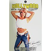 Limited Edition Hollywood Show HOTEL VIP GUEST  Pass Samantha Fox