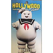 Limited Edition Hollywood Show PRESS Pass Ghostbusters