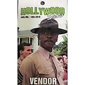 Limited Edition Hollywood Show VENDOR Pass Lou Gossett