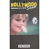 Limited Edition Hollywood Show VENDOR Pass Mariel Hemingway