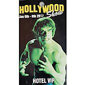 Limited Edition Hollywood Show HOTEL VIP  Pass Hulk
