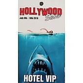 Limited Edition Hollywood Show HOTEL VIP  Pass Jaws