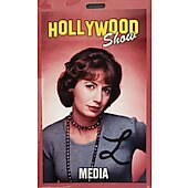 Limited Edition Hollywood Show MEDIA  Pass Laverne & Shirley