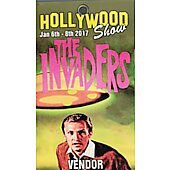 Limited Edition Hollywood Show VENDOR  Pass Invaders