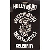 Limited Edition Hollywood Show CELEBRITY  Pass Sons of Anarchy