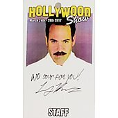 Limited Edition Hollywood Show STAFF Pass Soup Nazi