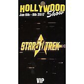 Limited Edition Hollywood Show VIP Pass Star Trek