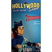Limited Edition Hollywood Show STAFF Pass Thunderbirds