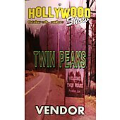 Limited Edition Hollywood Show VENDOR Pass Twin Peaks