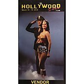 Limited Edition Hollywood Show VENDOR Pass Wonder Woman 1
