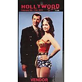 Limited Edition Hollywood Show VENDOR Pass Wonder Woman
