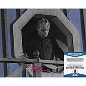 Ted White Friday the 13th 8X10 w/Beckett COA 5