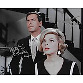 Martin Landau(1928-2017)  & Barbara Bain Mission: Impossible 5