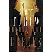 Reversible Errors BOOK signed by author Scott Turow