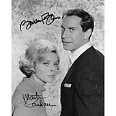 Martin Landau (1928-2017) & Barbara Bain Mission: Impossible 8