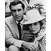 Martin Landau  (1928-2017) & Barbara Bain Mission: Impossible 9