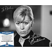 Leslie Easterbrook Police Academy 8X10 w/ Beckett COA (Signature personalized to Paul)