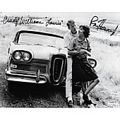 Ron Howard & Cindy Williams American Graffiti 8X10 #3 w/Beckett COA
