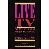 Live TV BOOK signed by author Tony Verna (Signature personalized to Craig)