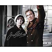 Joan Collins & William Shatner Star Trek TOS 2