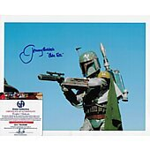 Jeremy Bulloch Star Wars w/Global Authentics COA  **LAST ONE**