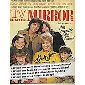 TV Radio Mirror magazine signed by Shirley Jones