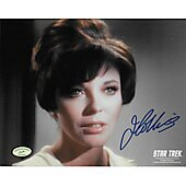 Joan Collins Star Trek w/ Ed Richard COA 2