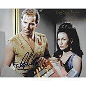 William Shatner & Barbara Luna Star Trek TOS #2