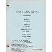 """Mork & Mindy """"Dueling Skates"""" Original Script"""