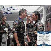 Val Kilmer Top Gun 8X10 w/ Beckett COA