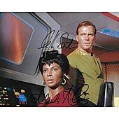 Nichelle Nichols & William Shatner Star Trek TOS #2