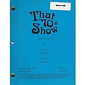 "That 70's Show ""Jackie Moves On"" Original Script"