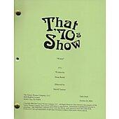 "That 70's Show ""Winter"" Original Script"