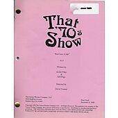"""That 70's Show """"Red Gets A Job"""" Original Script"""