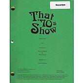 "That 70's Show ""Holy Crap"" Original Script"