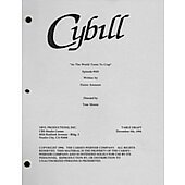 "Cybill  ""As The World Turns To Crap"" Original Script Table Draft"