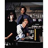 Broadcast News cast of 3 - Holly Hunter, William Hurt & Albert Brooks