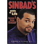 Sinbad's Guide to Life BOOK signed by author (Signature personalized to Craig)