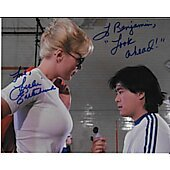 Leslie Easterbrook Police Academy 8X10 (Signature personalized to Benjamin)