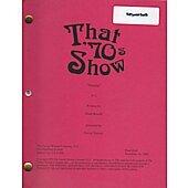 "That 70's Show ""Hunting"" original Script"