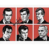 George Lazenby James Bond 007 8X10 #41