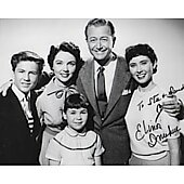 Elinor Donahue Father Knows Best 8X10 (Signature personalized to Stu & Sandy)