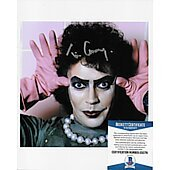 Tim Curry Rocky Horror 8X10 w/Beckett COA
